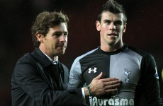 'Man City will fear the return of Bale' – Villas-Boas