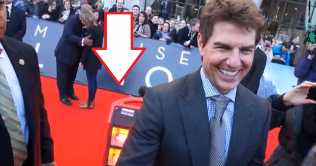 The Dredge:Meet the real star of the Tom Cruise red carpet… the heater