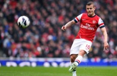 England's Jack Wilshere to miss Ireland's Wembley showdown