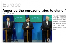Er, what's happening on the Euronews website?