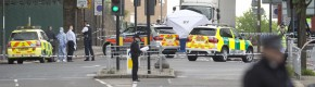 Security stepped up at London barracks after suspected terrorist attack on soldier