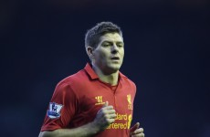 Steven Gerrard to miss Ireland game to undergo shoulder surgery