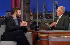 WATCH: Chris O'Dowd talks Boyle and GAA on David Letterman
