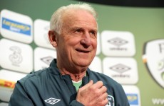 Trapattoni's delight as young Irish stars answer London calling