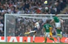 Who stuck the ball in the English net? Shane Long did
