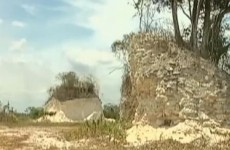 Mayan temple bulldozed for road-building project
