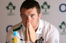 Ireland captain Peter O'Mahony eager to 'shut up, get out and do it'