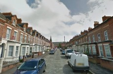 Pipe bomb partially explodes on residential street in Belfast