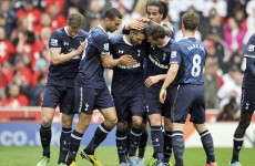 Late Adebayor strike earns Spurs huge win at the Britannia