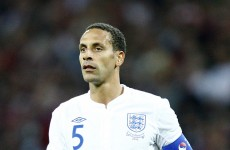 'At the age of 34, I feel it is right for me' – Ferdinand calls time on England career