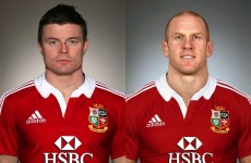 Fair dinkum: O'Driscoll and O'Connell are Lions the Aussies fear most