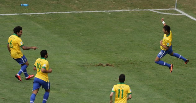 Stunning Neymar strike helps Brazil beat Japan in Confederations Cup