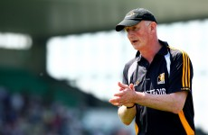 Brian Cody back on the sideline for Kilkenny today and he's joined there by Henry