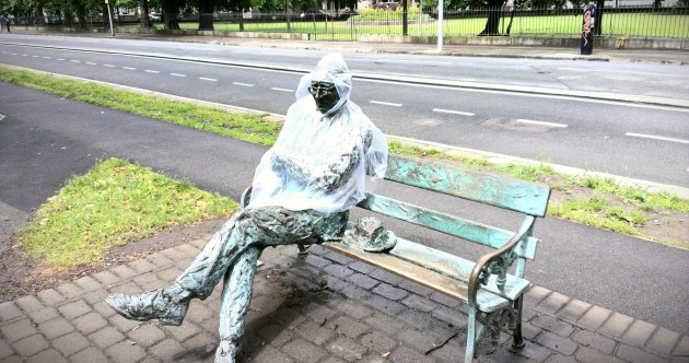 Most Prepared for the Weather Statue of the Day