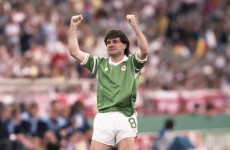 It's the 25th anniversary of Ray Houghton's goal against England