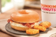 The Glazed Donut Breakfast Sandwich may be just what your BH Tuesday needs