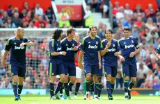 The goals and pics from today's Man United vs Real Madrid Legends match